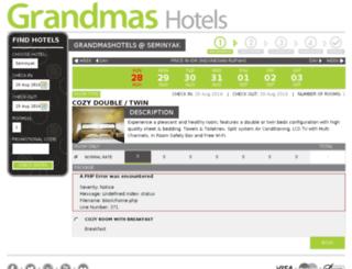 booking.grandmashotels.com screenshot