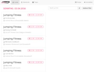 booking.jumping.fitness screenshot