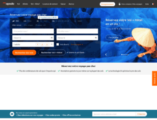 booking.opodo.fr screenshot