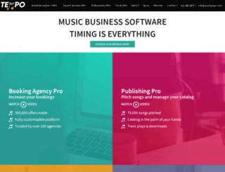 bookingagencypro.com screenshot