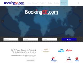 bookingee.com screenshot