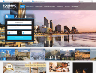 bookingisrael.com screenshot