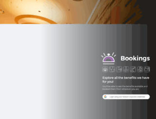bookings.globant.com screenshot