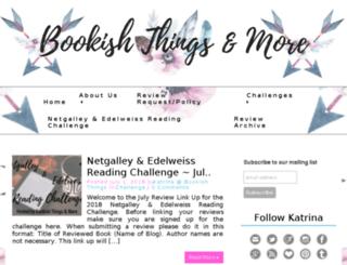 bookishthingsandmore.com screenshot