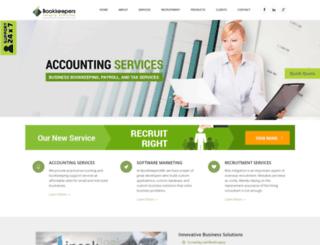 bookkeepersme.com screenshot