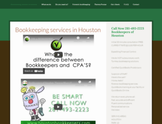bookkeepersofhouston.com screenshot