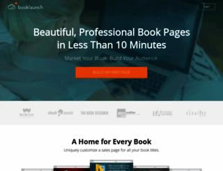 booklaunch.io screenshot