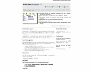 bookmarknavigator.com screenshot