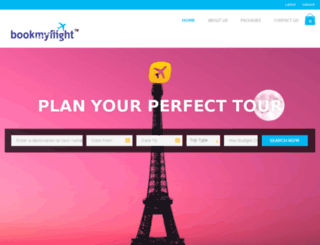 bookmyflight.co.in screenshot