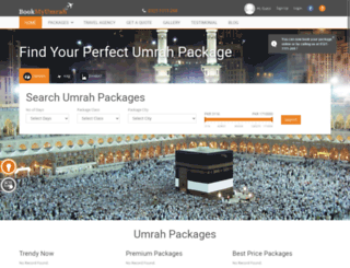 bookmyumrah.pk screenshot