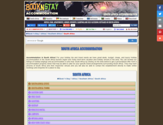 booknstay.co.za screenshot