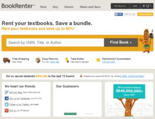bookrentercoupons.com screenshot