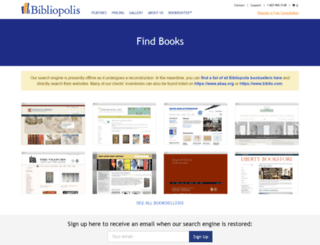 books.bibliopolis.com screenshot
