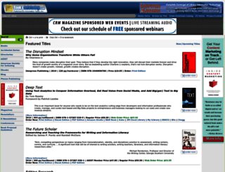books.infotoday.com screenshot