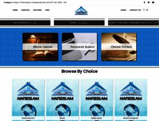 books.nafseislam.com screenshot