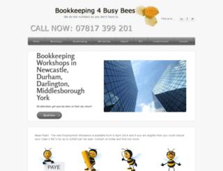 books4busybees.co.uk screenshot