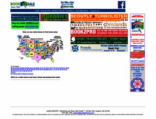 booksalefinder.com screenshot