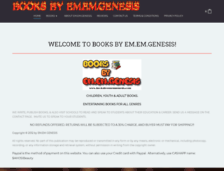 booksbyememgenesis.com screenshot
