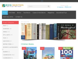 bookselection.com.pk screenshot