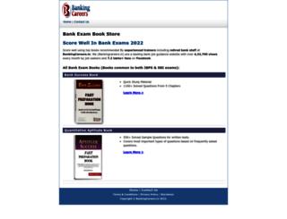 bookstore.bankingcareers.in screenshot