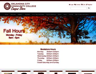 bookstore.occc.edu screenshot