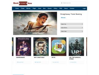 bookticketnow.com screenshot