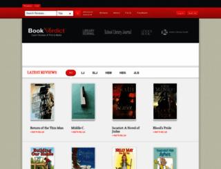 bookverdict.com screenshot
