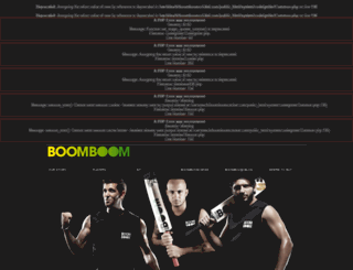 boomboomcricket.com screenshot
