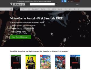 boomerangrentals.co.uk screenshot
