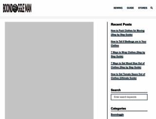boondoggleman.com screenshot