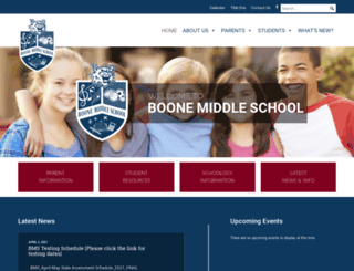 boonemiddle.polk-fl.net screenshot
