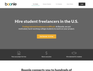 boonle.com screenshot