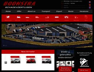 boonstraschadevoertuigen.nl screenshot