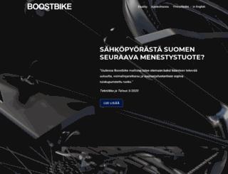 boostbike.fi screenshot