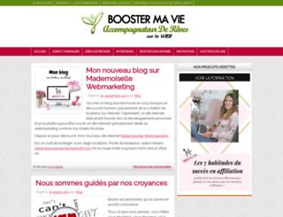 boostermavie.com screenshot
