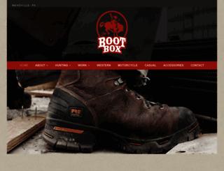 bootbox.com screenshot