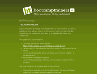 bootcamptrainers.nl screenshot