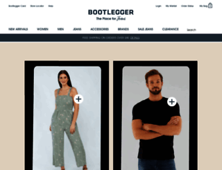 bootlegger.com screenshot