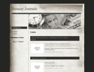 boracayjournals.webs.com screenshot