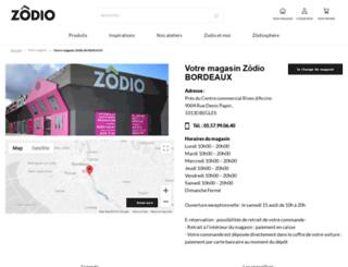 bordeaux.zodio.fr screenshot