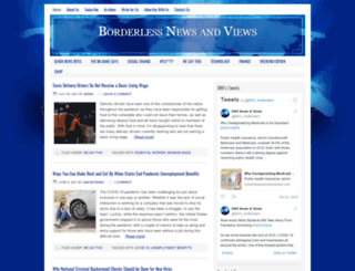 borderlessnewsandviews.com screenshot