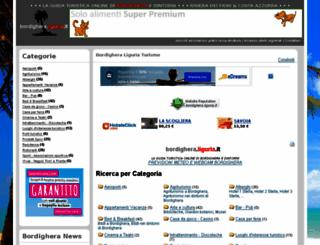 bordighera.liguria.it screenshot