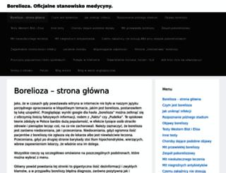 borelioza.vegie.pl screenshot