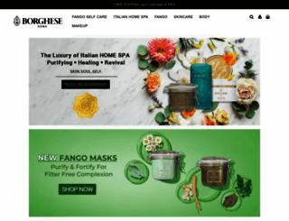 borghese-asia.com screenshot