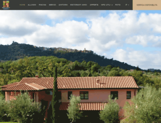 borgoetrusco.com screenshot