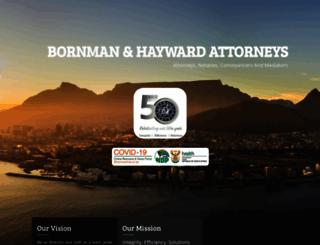 borhay.co.za screenshot