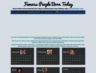 born-today.com screenshot