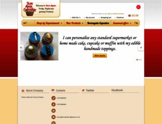 bornagaincupcakes.com screenshot