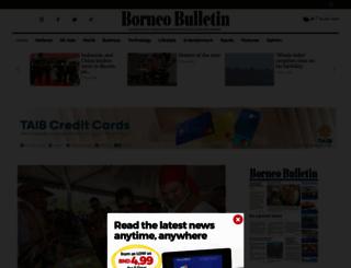 borneobulletin.com.bn screenshot