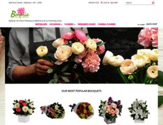 boroniaexclusiveflorists.com.au screenshot